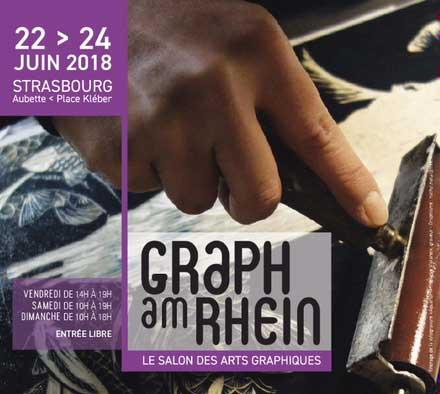 Participation de Michele WAGNER à Graph am Rhein du 22 au 24 juin 2018