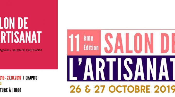 26/27 octobre 2019 – 11 ème édition du SALON DE L'ARTISANAT